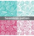 Colorful seamless pattern with painted wing vector image
