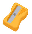 sharpener for pencils icon flat cartoon style vector image