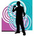 Artists of hip hop vector image