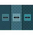 Luxury design elements frame vector image
