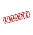 Urgent rubber stamp vector image