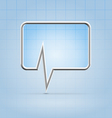 Medical forum application icon vector