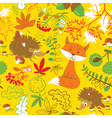 Fall season seamless vector image