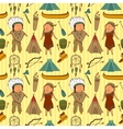 Native American Indian culture seamless pattern vector image vector image