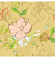 decorative seamless background vector image vector image