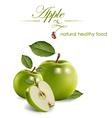 apple green vector image vector image