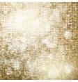 Golden mosaic background EPS 10 vector image