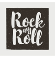 rock and roll vector image