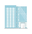 modern glass building vector image vector image