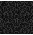 Ribbon black isolated seamless background vector image
