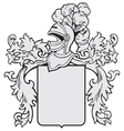 aristocratic emblem No1 vector image