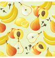 yellow fruits seamless vector image