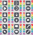 Negative films Smartphones Charging Lock Mobile vector image