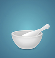 Mortar and Pestle vector image