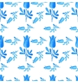 seamless pattern in the Russian style vector image