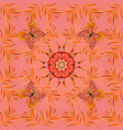 watercolor seamless pattern beautiful pattern for vector image