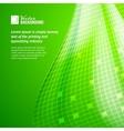 Abstract green mosaic vector image