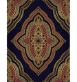 Oriental ornament for carpet vector image