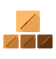 brush icon vector image