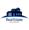 Real estate logo vector image