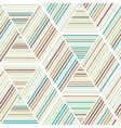 Seamless abstract geometry background pattern vector image