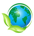global leaf vector image