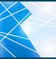 abstract blue technology geometric corporate vector image