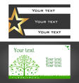 design business cards vector image
