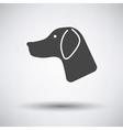 Hunting dog had vector image