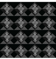 Black square seamless pattern blackground vector image