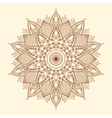 Mandala Beautiful hand-drawn flower vector image