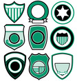 simple patch badge vector image