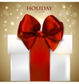 Elegant Christmas gifts background vector image