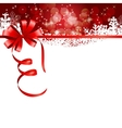 Abstract beauty Christmas and New Year background vector image vector image