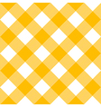 Tablecloth Pattern Yellow vector image