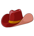 A cowboys hat vector image