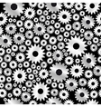 background with gears pattern vector image