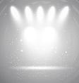 spotlight display background 2208 vector image vector image