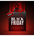 Black Friday Sale Template vector image vector image
