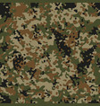 autumn flectarn camouflage seamless patterns vector image vector image