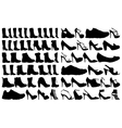 Shoe and boots vector image