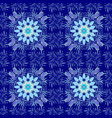 flowers on blue neutral and violet colors flat vector image