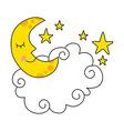 moon design vector image