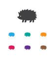 of animal symbol on hedgehog vector image