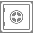 Safe icon from Business Bicolor Set vector image