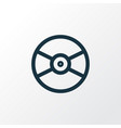 vinyl outline symbol premium quality isolated vector image