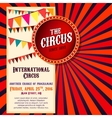Circus Poster Image vector image