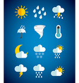 weather concept vector image