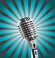 mic background vector image