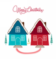 Two Home Holidays vector image